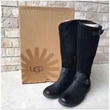 s thomsen ugg boots ugg black boots womens size 11 m ebay