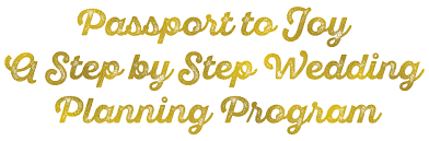 step by step wedding planning passport to wedding planning program mango muse events