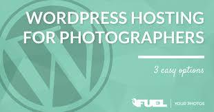 Photographers Websites Wordpress Hosting For Photography Websites 3 Easy Options