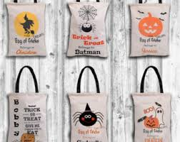 personalized trick or treat bags tote bag2personalized bagcanvas tote