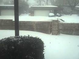 Worst Blizzard In History by Worst Snow Storm In Tulsa U0027s History February 1 2011 Video