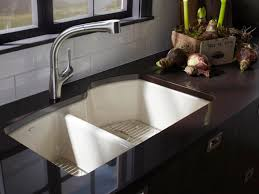 Porcelain Kitchen Sinks by Elegant Undermount Porcelain Kitchen Sink Kitchen And Residential