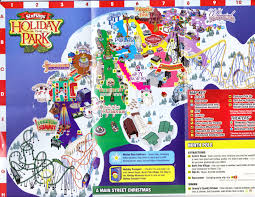 six flags great adventure 2015 park map holiday in the park