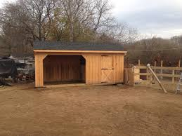 10x20 Garage 10 U0027x20 U0027 Horse Barn Delivered To Manorville Ny Shed Man Inc