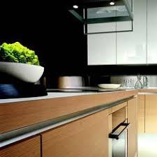 Modern Kitchen Cabinet Design Modern Kitchen Design With Wooden Accent And Soft Color Decoration