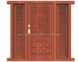 beautiful single main door designs for home in india contemporary