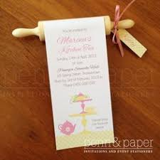 kitchen tea gift ideas for guests sugarcoated events mini rolling pin invitations aimee kitchen tea