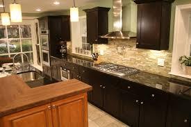 mocha kitchen cabinets mocha shaker two toned kitchen modern kitchen philadelphia