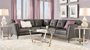 sofia vergara mandalay charcoal sofa sofia vergara living room sets furniture collections