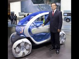 renault twizy blue 2009 renault twizy z e concept carlos ghosn chairman and ceo of