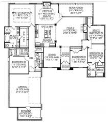 5 bedroom country house floor plans house plans