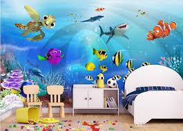 Wallpapers For Children 3d Wallpaper Custom Photo Mural Sea World Children Room Scenery
