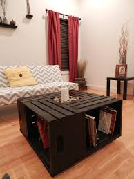 crate coffee tables coffee table wood crate coffee table diywooden plans diy wooden