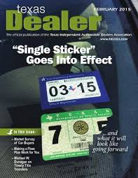 Auto Dealer Floor Plan Texas Dealer February 2015 By Texas Independent Auto Dealers