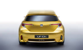 toyota lexus hatchback lexus lf ch hatchback concept fully revealed updated gallery with