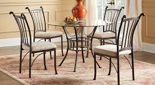 affordable metal dining room sets rooms to go furniture