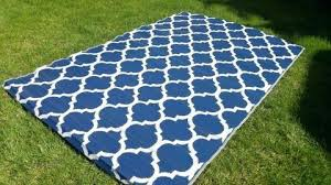 Navy And White Outdoor Rug New Blue Outdoor Rug Outdoor Reversible White Navy Blue Trellis