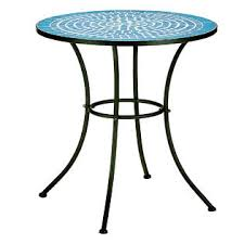 Mosaic Bistro Table Essential Garden Patterson Mosaic Bistro Table