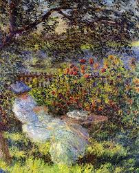 the monet family in their garden at argenteuil art u0026 artists claude monet part 1 introduction