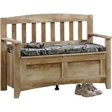 sauder east canyon storage bench craftsman oak walmart com