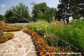 Garden Path Edging Ideas Garden Path Flower Borders
