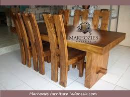 desain meja lesehan meja makan trembesi atau meh marhozies furniture indonesia