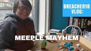vlog meeple mayhem board game café youtube