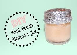 diy nail polish remover jar youtube