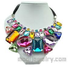 fashion jewelry necklace wholesale images Irregular color stone necklace hotsale fashion necklace wholesale jpg