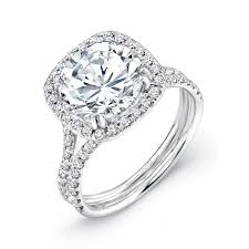 3 carat engagement ring uneek 3 carat engagement ring with cushion shaped