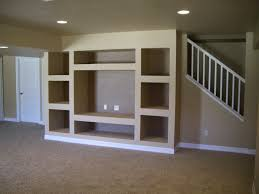custom drywall entertainment centers built in entertainment