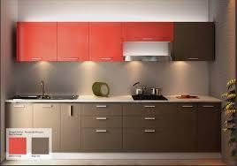 straight wooden modular kitchen godrej interio modular