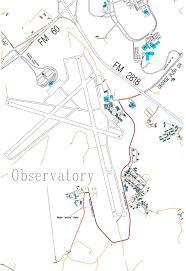 Tamu Parking Map Observatory