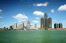 map usa detroit map of the city of detroit michigan usa nations