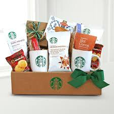 coffee and tea gift baskets starbucks gift baskets gift basket delivery