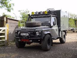 land rover bespoke land rover defender 110 td5 bespoke tipper built 2011 one of the