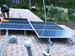 diy solar diy solar 5 kw roof system installed in a weekend