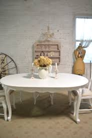 shabby chic dining table sets vintage painted shabby chic furniture