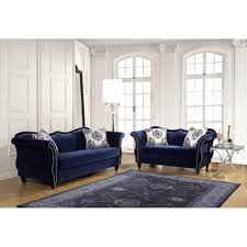 Blue Sofas And Loveseats Zaffiro Sofa Royal Bluesm2231 Sf