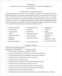 business analyst resume template u2013 11 free word excel pdf free