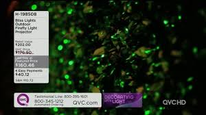 blisslights outdoor firefly light projector page 1 qvc