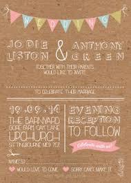 Shabby Chic Wedding Invitations by 50 Personalised Jam Jar Country Vintage Shabby Chic Wedding