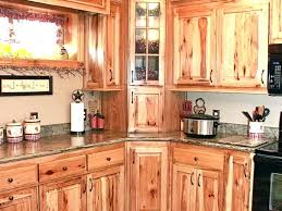 Hickory Cabinet Doors Rustic Hickory Kitchen Cabinets Setbi Club