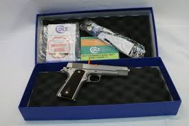colt 70 series stainless 45 acp as new custom for sale