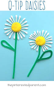 easy summer craft a q tip daisy a lovely and easy craft for