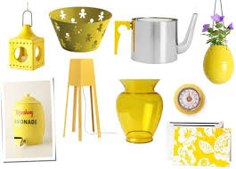 Stunning 80 Yellow Home Accessories Decorating Design Best 25