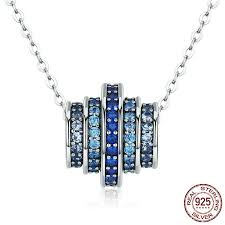 elegant pendant necklace images Stunning designer pendant necklace with elegant gradient blue jpg