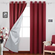 Silver And Red Curtains Cheap Curtains U2013 Ease Bedding With Style