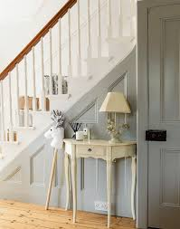 Painting A Banister White Turn A Traditional Hallway Into An Elegant And Airy Space That U0027s