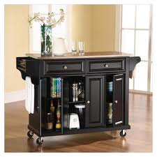 movable kitchen island with remodeling 2 drawers butcher block